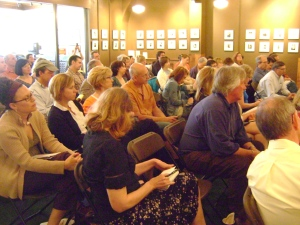 The crew who packed the house at the Tattered Cover LoDo for our Business Weekend