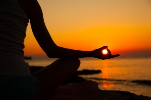 Yoga-Sunset-Meditation