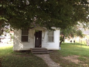 The tiny house where I lived post-college.